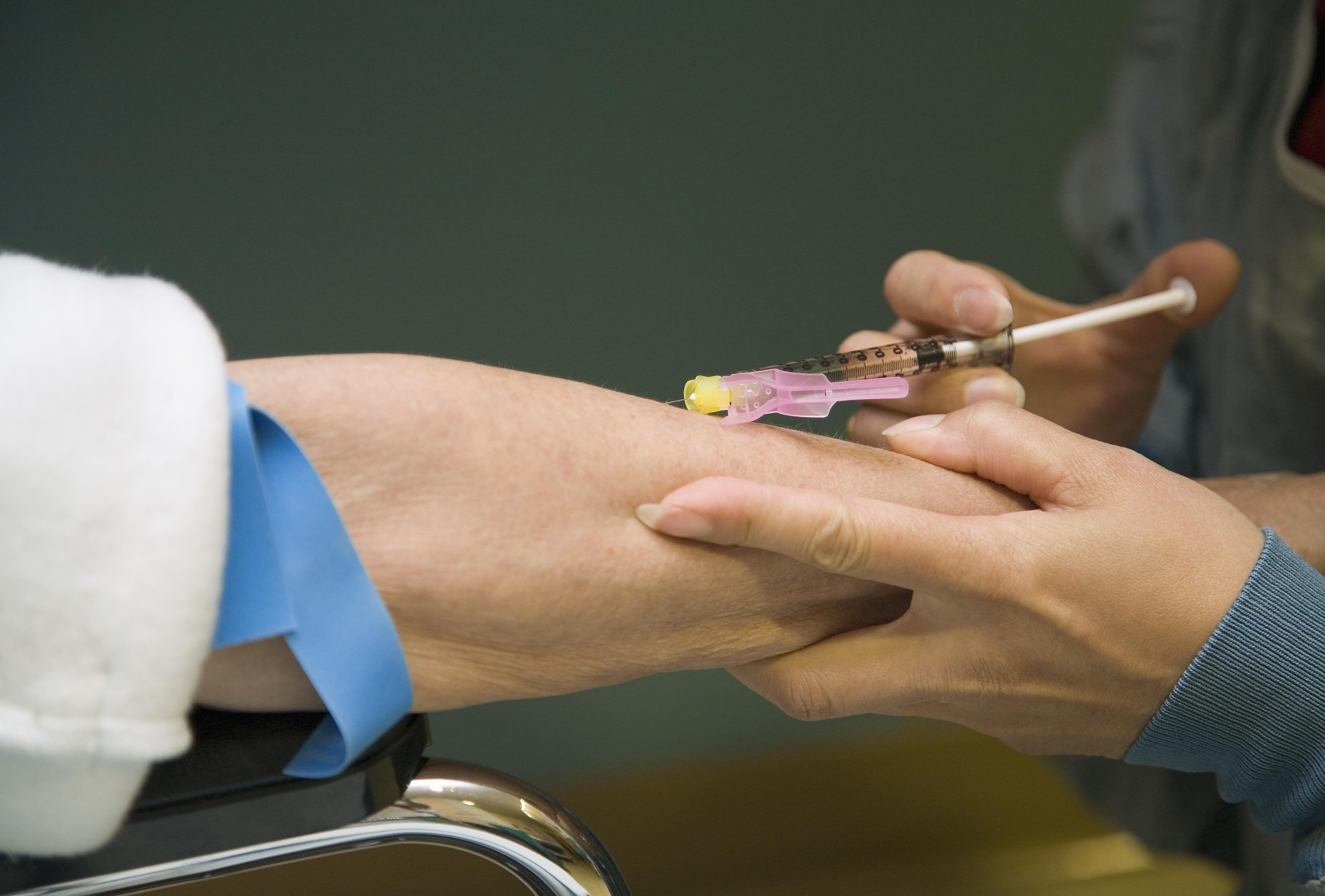 preventing needlestick injuries training